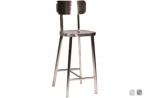 """Tabouret de bar """"Atlanta"""" pour mobilier design par Esprit Loft"""