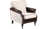"""Mobilier design vintage fauteuil """"Camden"""", Esprit Loft"""