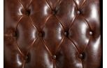"Detail cuir fauteuil ""York"", Esprit Loft"